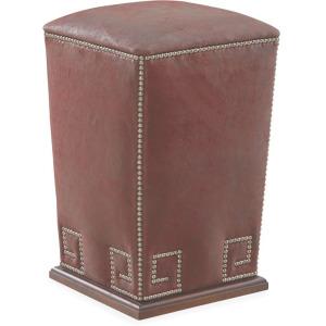 Leather Bongo Ottoman
