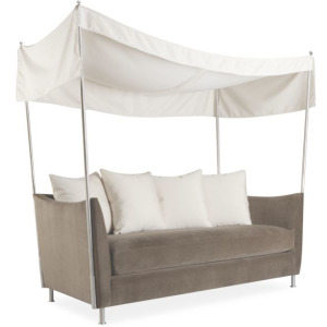 Oleander Outdoor Apartment Sofa w/Canopy