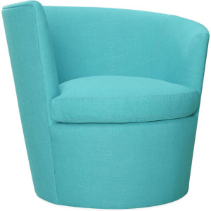 Wave Outdoor Left Arm Facing Swivel Chair