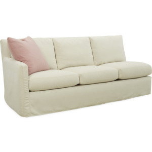 Nandina Outdoor Slipcovered One Arm Sofa