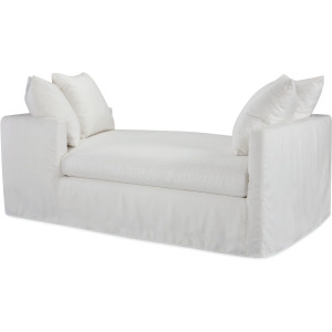 Nandina Outdoor Slipcovered Double Chaise