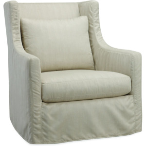 Lotus Outdoor Slipcovered Chair