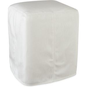 Roost Outdoor Slipcovered Stool Ottoman