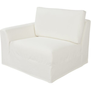 Bermuda Outdoor Slipcovered One Arm Chair