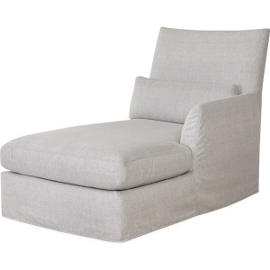 The Palm Outdoor One Arm Chaise