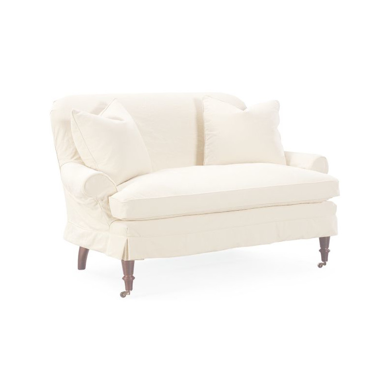Tremendous Slipcovered Loveseat By Lee Industries C1006 02 Willis Forskolin Free Trial Chair Design Images Forskolin Free Trialorg
