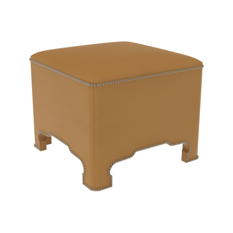 Miraculous Leather Cocktail Ottoman By Lee Industries L9054 00 Ibusinesslaw Wood Chair Design Ideas Ibusinesslaworg