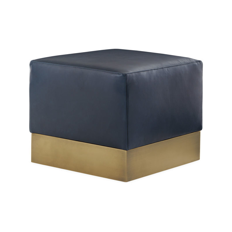 Fabulous Leather Ottoman By Lee Industries L9119 00 Willis Ibusinesslaw Wood Chair Design Ideas Ibusinesslaworg