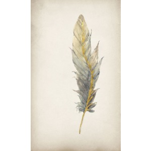 Gilded Feathers IV (Gilded Gold)
