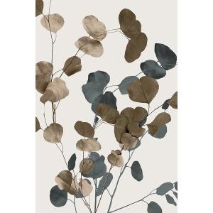 Eucalyptus Sway II Fiber Texture Canvas