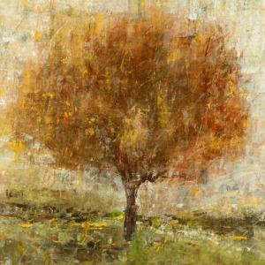 Rust Lit Tree