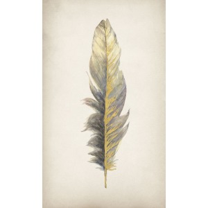Gilded Feathers II (Gilded Gold)