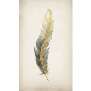 Gilded Feathers I (Gilded Gold)