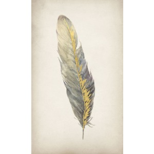 Gilded Feathers III (Gilded Gold)