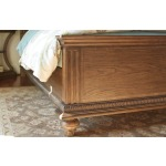 Arched Panel Bed Cal King California King