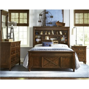 Vista Point Bookcase Bed Twin
