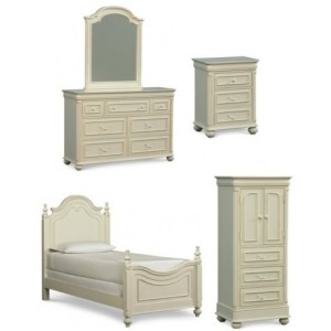 Charlotte 5 PC Twin Bedroom Set
