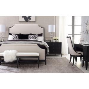 Upholstered Bed, Queen Queen