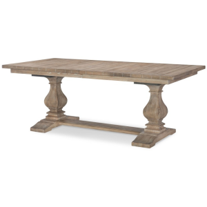 Complete Rectangle Trestle Table