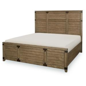 Panel Bed, Queen Queen