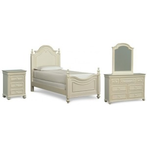 Charlotte 4 PC Twin Bedroom Set