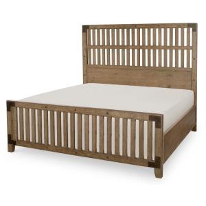 Wood Gate Bed, Queen Queen