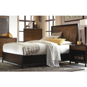Curved Panel Bed CA King
