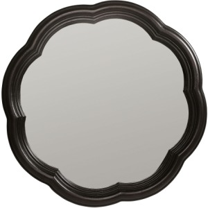 Scalloped Accent Mirror