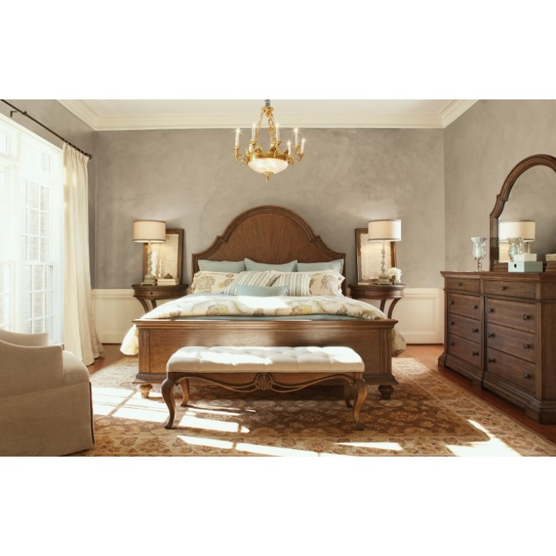 Arched Panel Bed Queen Queen