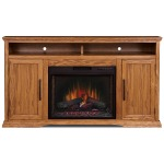 """Colonial Place 66"""" Fireplace Console"""