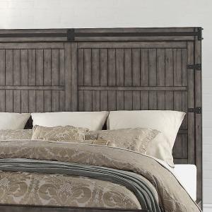 Storehouse King Panel Headboard - Smoked Grey