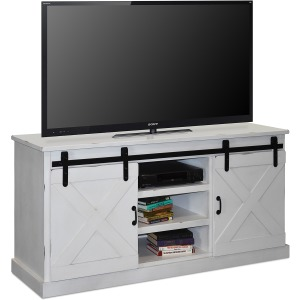 "Farmhouse 66"" TV Console - Jasmine White"