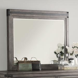 Storehouse Mirror - Smoked Grey