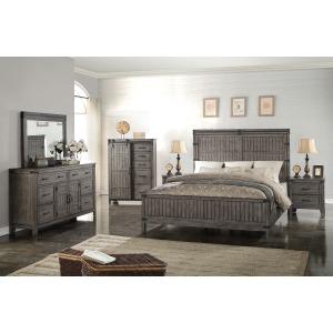 Storehouse 3 PC Queen Bedroom Set - Smoked Grey