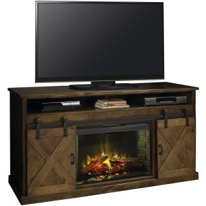"Farmhouse 66"" Fireplace Console"