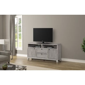 "Pacific Heights 60"" TV Console - Melbourne Grey"