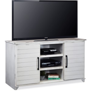 "Cottage 66"" TV Console - Jasmine White"