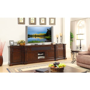 Berkshire TV Stand with Piers