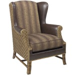 Sanctuary Leather Wing Chair