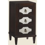 Lucerne Mirrored Nightstand
