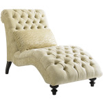 Althena Leather Chaise