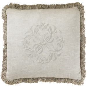Courtrai Throw Pillow (Linen)