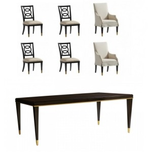 Carlyle 7 PC Dining Set