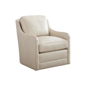 Glenhaven Leather Swivel Chair