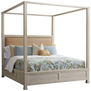 Shorecliff Canopy Bed - King