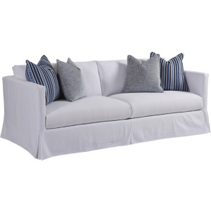 Marina Slipcover Sofa (white)