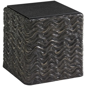 Talk Of The Town Cube End Table