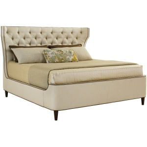Mulholland Upholstered Platform Bed 6/6 King