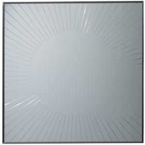 Calliope Square Sunburst Mirror