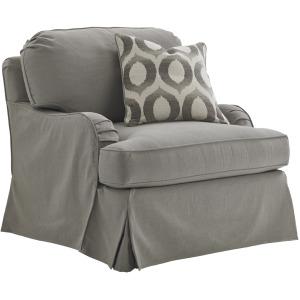 Stowe Slipcover Chair - Gray